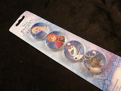 Official Disney Frozen Erasers x 4 - Perfect Smaill Gift - Brand New