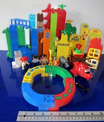 bulk lot of mixed DUPLO LEGO about 2 kg Zoo Figures Helicopter Jesse toy story