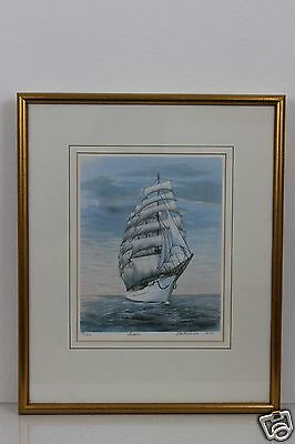 LTD Edition Print 105 of 950 Signed Pencil by the Artist Framed