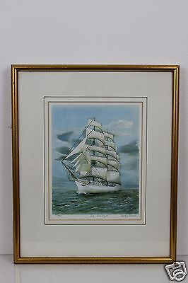 LTD Edition Print 101 of 950 Signed Pencil by the Artist Framed