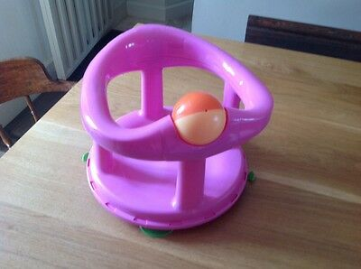 Safety 1st Swivel Bath Seat for Baby (Pink)