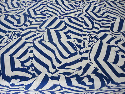 Designers Guild Christian Lacroix Riviera Blue/White Curtains or Cushions Fabric