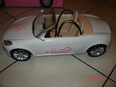 Barbie Collectible Just Married White Convertible Car  Oggi Sposi