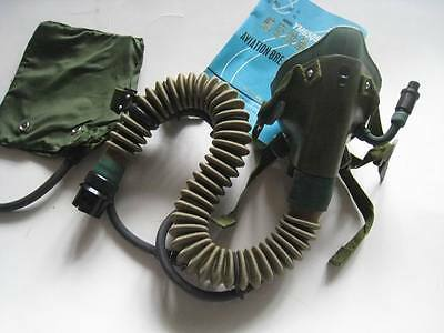 Military Surplus Chinese Air Force Aviator Pilot OXYGEN MASK
