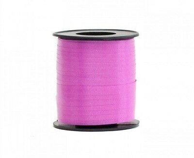 HOT PINK BIRTHDAY PARTY BALLOON CURLING RIBBON - Select Amount