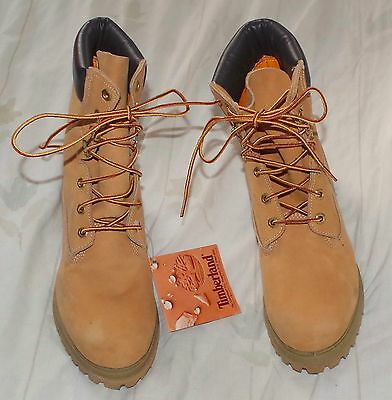 New Vintage Timberland Hiking Work Boots size 7 Wide 12281 Made in USA NOS