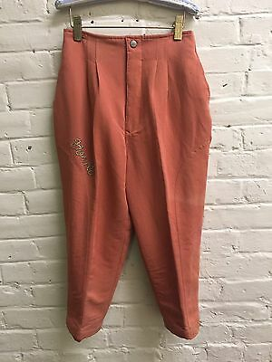 Vintage Horko Taiwan M Boy Insulated coral Western Pants