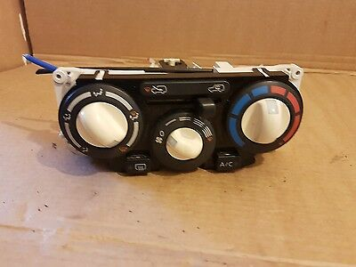 Nissan Micra K12 Heater Control Panel With A/c