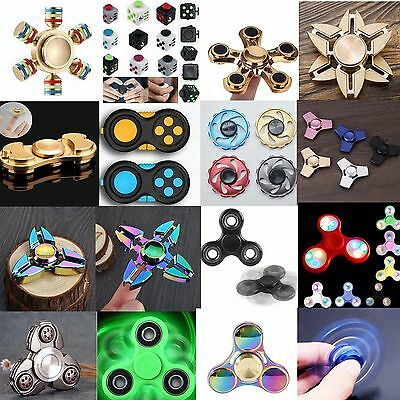 2017 Fidget Hand Spinner Finger EDC Focus Stress Relief Toy For Kids Adult Gifts
