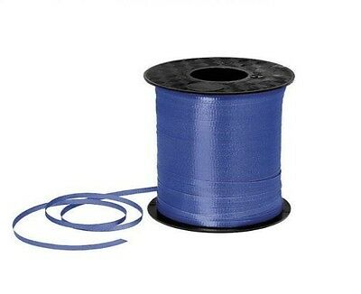 BLUE BIRTHDAY PARTY BALLOON CURLING RIBBON - Select Amount