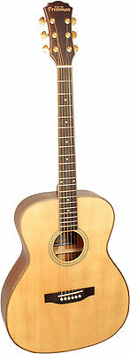 Freshman Songwriter OM Acoustic Guitar,Acoustic Guitar, with Guitar case