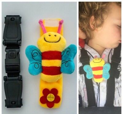 Buggy Clip BEE �� �� Harness Strap Stop Your Escapee / Houdini UNIVERSAL