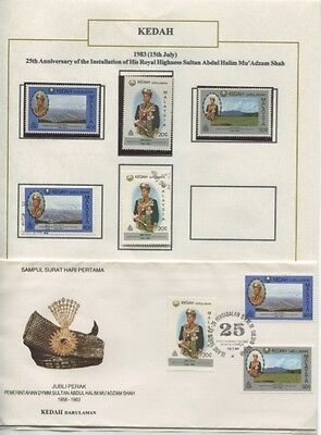Malaysian 1983 first day cover and stamps