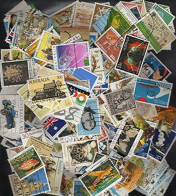 150 Australia all different used stamps