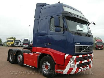 VOLVO FH GLOBETROTTER XL 6x2 TRACTOR UNIT 2007
