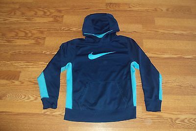 Nike Therma-Fit Hoodie Blue/ Light Blue Size   L