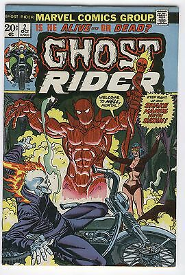 Ghost Rider #2 Shake Hands With Satan Bronze Age Key VG