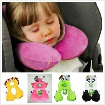 Baby Protection Cushion Head Neck Rest Travel Car Seat Pillow Stroller Cushion
