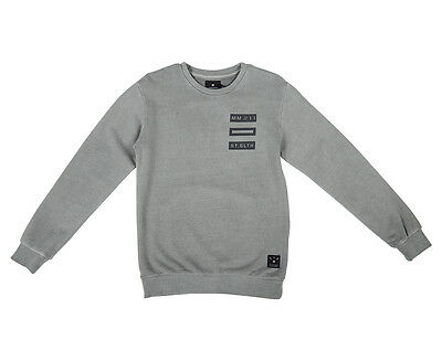 St Goliath Youth Jackson Fleece Crew - Grey