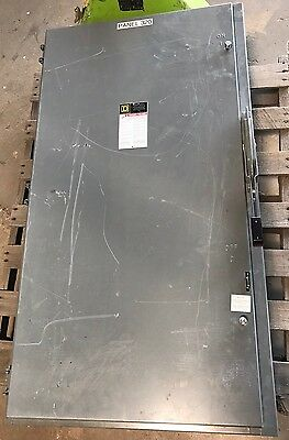 Square D H325N 400 Amp Fusible Disconnect Box