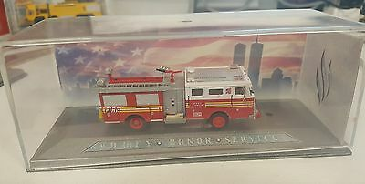 Boley Limited Edition Seagrave Fire Truck Diecast in Display Case