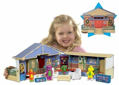 Barney School House Playset Very Rare Collectible Brand New