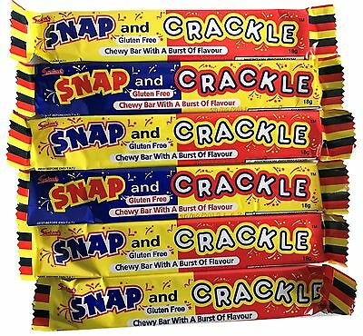 20 x Snap And Crackle Chewy Bar Swizzels Matlow Party Favor Lollies Candy Buffet