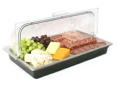 NEW Gastronorm Size Roll Top CHILLED DISPLAY Cooling Unit <8°C No Power Required