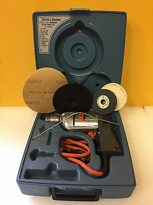 """Black & Decker 7120 3/8"""" Drive, Vintage Corded Drill + Carrying Case + Accy's!"""