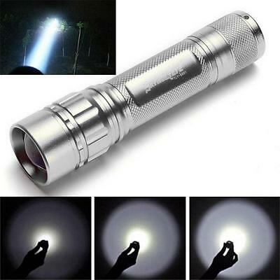 Focus 3000LM 3 Modes CREE XML T6 LED 18650 Flashlight Super Torch Powerful Light