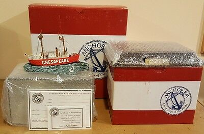 "Anchor Bay ""Great Ships of the World"" - The Chesapeake with Display Case, New in"