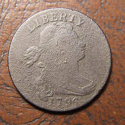 1796 Draped Bust Lg. Cent, S-110, Reverse of 1794