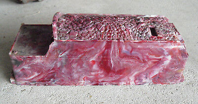 RARE Vintage 1950s O Scale Lionel 1666 T Marbled Plastic Tender Car Shell #4
