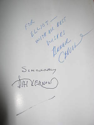 1987 The Vernon Chronicles Vol 1 The Lost Inner Secrets Signed By Dai Vernon