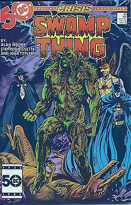 17 Issues Of Alan Moore's Run On Swamp Thing + 2  Free Shipping !