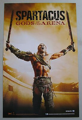 Spartacus Gods Of The Arena / Blood And Sand DS Poster Fan Expo Comic Con