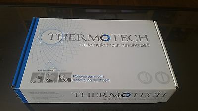 "NEW Thermotech S768d Mini 7""x19"" Automatic Moist Heating Pad Digital Therapy"