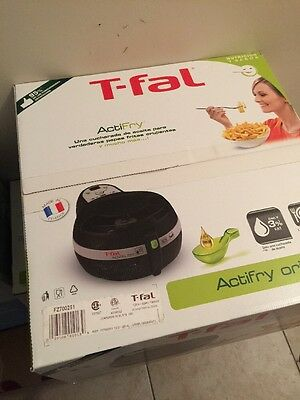 T-fal FZ700251 ActiFry AIR FRYER, 2.2 Pound Healthy Low Fat  MULTI COOKER New