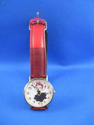 Vintage 1992 Betty Boop Watch and Band Moveable Eyes Tali