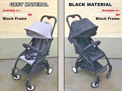 Compact Lightweight Baby Stroller Pram Easy Fold Travel Carry Luggage Plane