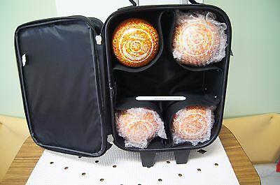 New Taylor SRV Bowls and Trolley Bag Package1 - Flame - Size 2 - WB26