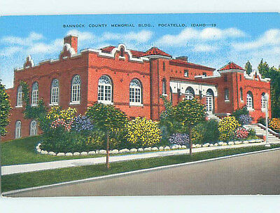 Unused Linen HOSPITAL SCENE Pocatello Idaho ID J9389
