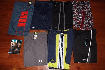 Lot 8 Nike Under Armour Mens Basketball Shorts Running Trunks Air Jordan S Nwt