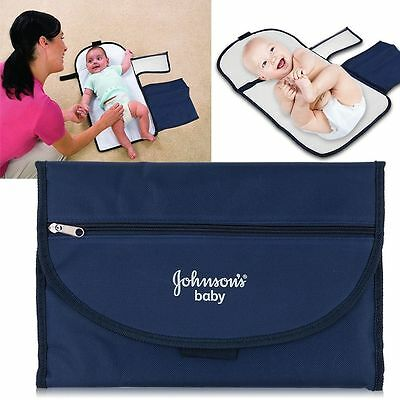 Baby Changing Nappy Mat Waterproof Base Pad Portable Folding Bag Clean Cushion
