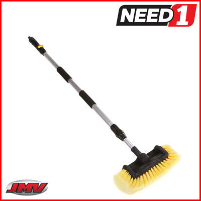 JMV Extension Car & Truck Wash Brush, Aluminium Extendable Pole To 170cm