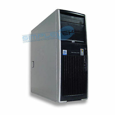 Workstation Reconditioned Xw4200 1Gb 80 Gb Dual Video Dual Monitor Win Xp Pro