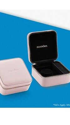 NEW Genuine PANDORA Pink Mothers Day 2017 Jewellery Box/Case and Gift Bag