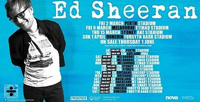 Ed Sheeran Tickets Adelaide
