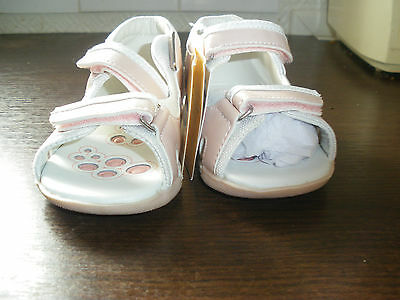 Sandales Fille Blanc Et Rose - Pointure 22 - Chicco
