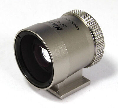 Nikon Optical View Finder Viewfinder DF-CP1 - Silver **LIKE NEW+** Condition